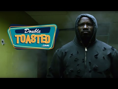 LUKE CAGE OFFICIAL TRAILER REACTION - Double Toasted Highlight