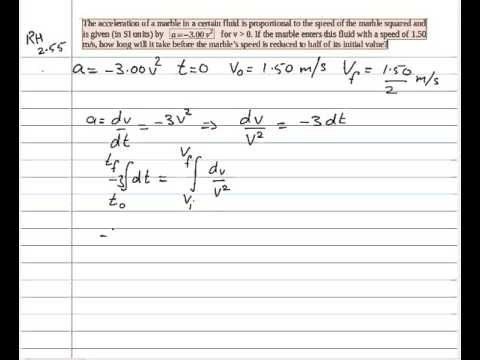 Solution To Resnick Halliday Walker Chapter 2 Problem 55