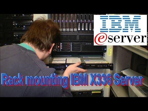 Rack mounting of IBM X336, Server 2008 install - 178