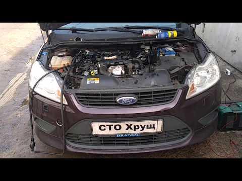 Форд фокус 1.6tdci не заводится завоздушена топливная