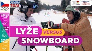 Lyže vs. snowboard