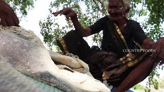 Dry Salt fish Fry By 106 Mastanamma |Country foods