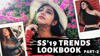 Spring/Summer'19 Fashion Trends  Part-2 | How-to-Style | Affordable Fashion | Pankita Aswani