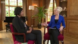 Vicky Beeching interviews Meera Syal on BBC1