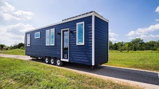 310 Sq Ft Tiny House With Elevator Bed Sleeps 6