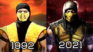 Mortal Kombat: Evolution 1992-2019 [History Of Mortal Kombat Game]