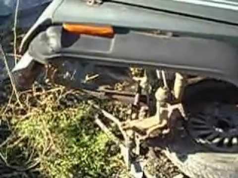 jeep in the junkyard