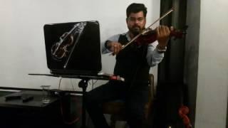 Jo bheji thi Dua instrumental sanjay kalotra violin