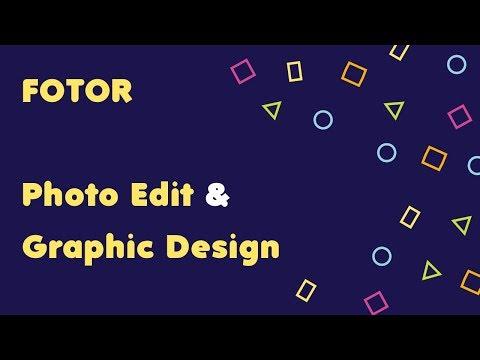 online graphic design service - Fotor