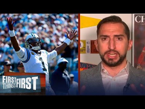 Cam Is The Best To Wear A Panthers Jersey & They Treated Him Badly — Nick | NFL | FIRST THINGS FIRST
