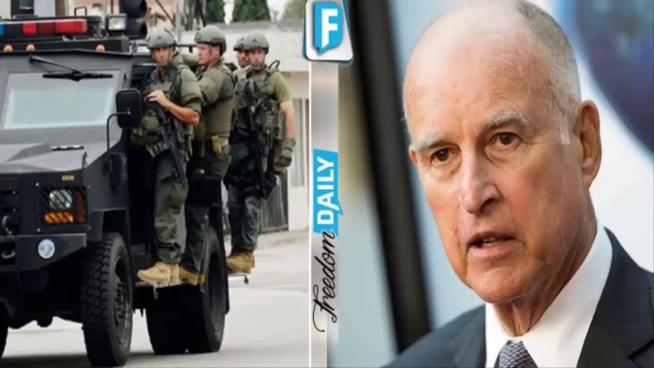 Image result for Trump Is About To Send In The Feds To Raid California After What They Just Declared – Trump Means Business