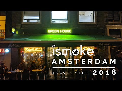 ISMOKE In Amsterdam 2018 | Travel Vlog