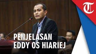 Penjelasan dan Jawaban Lengkap Saksi Ahli Kubu Jokowi-Ma'ruf,  Edward Omar Syarief Hiariej  di MK