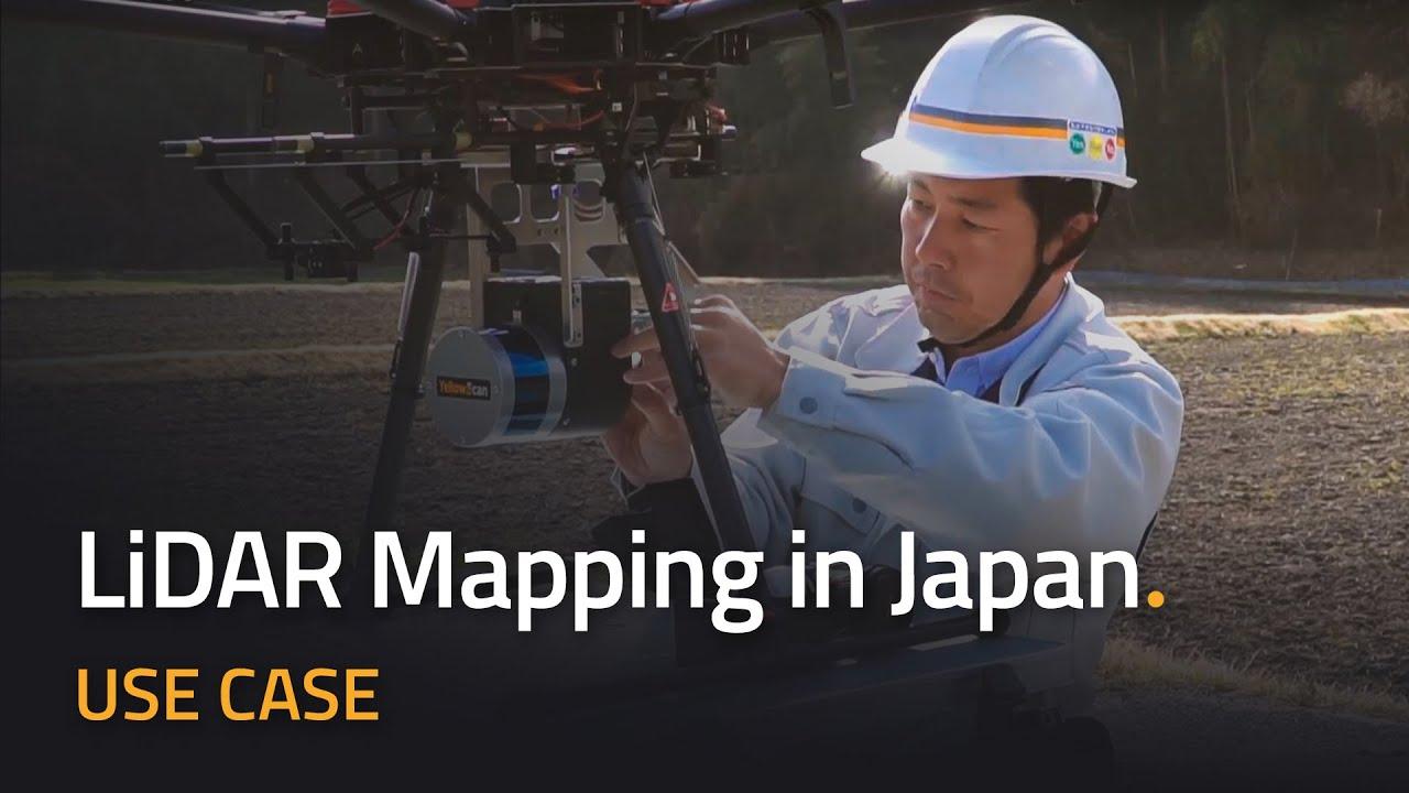 Use Case: YellowScan Vx & Surveyor UAV LiDAR mapping in Japan   Topography