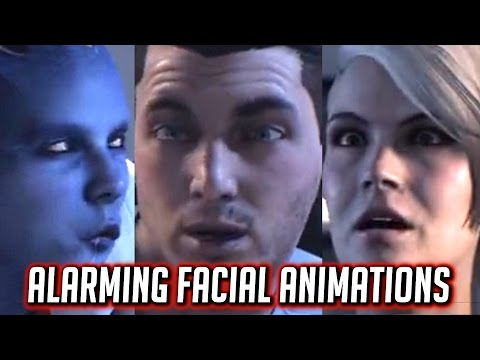 Mass Effect: ANDROMEDA Alarming Facial Animations