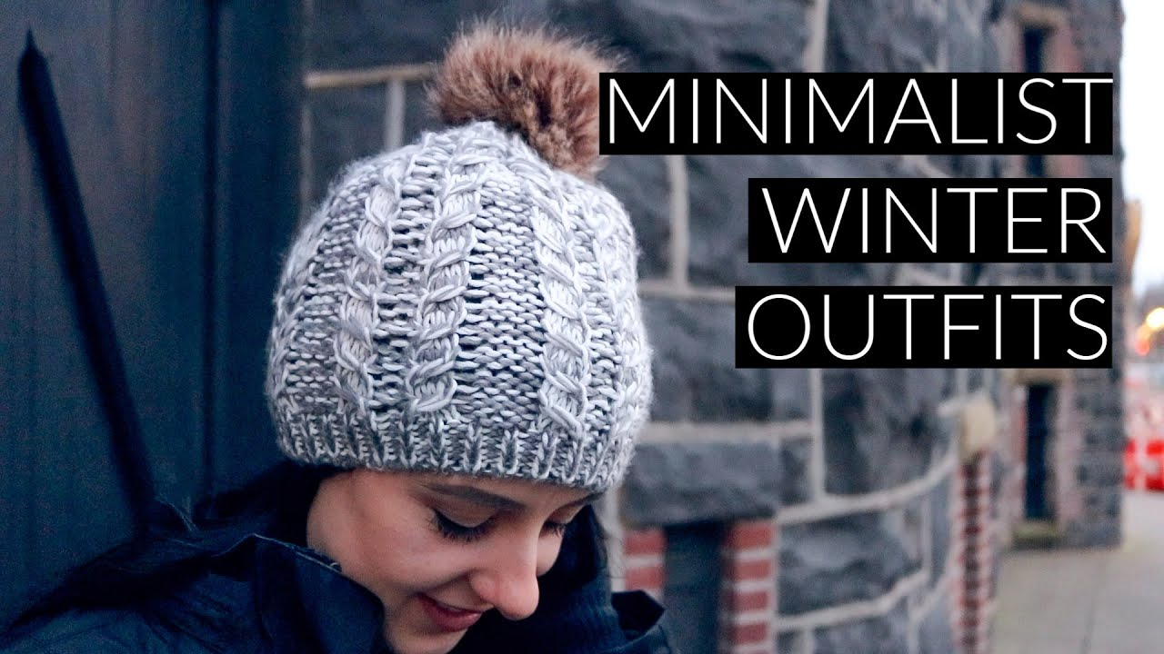 [VIDEO] - Minimalist Winter Wardrobe 2018 Lookbook 8