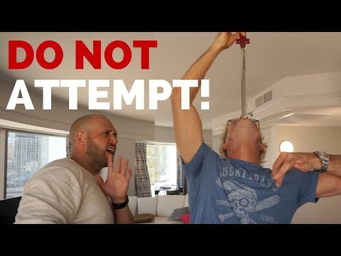 Thumbnail: SWORD SWALLOWING ACCIDENT TRICK! (NEVER DO THIS!) featuring Dennis Roady