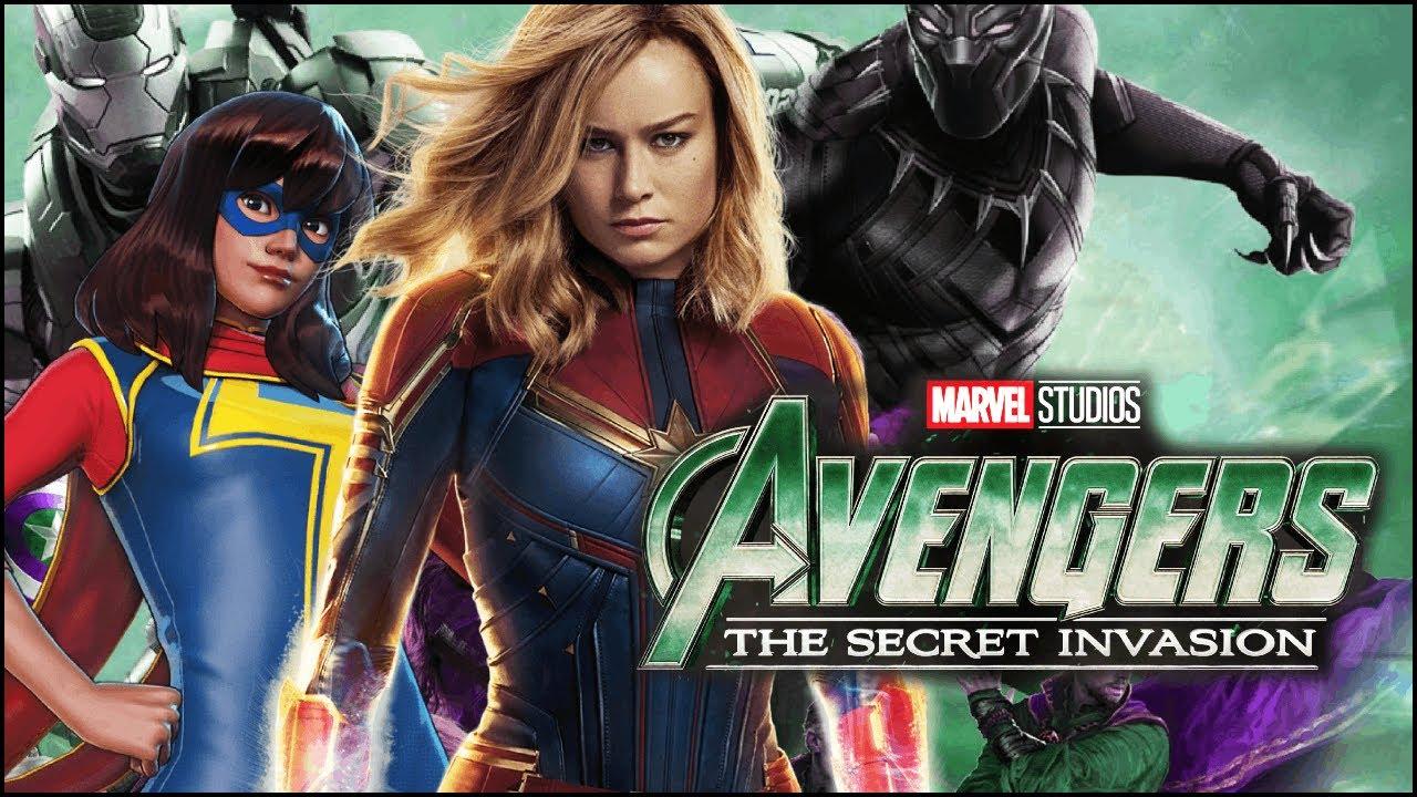 WILD MCU UPDATES! Captain Marvel 2 Secret Invasion Avengers 4.5? - YouTube