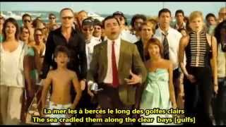 Mr Bean Movie La Mer Charles Trénet French