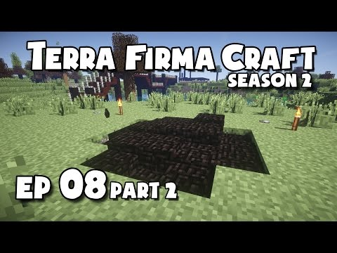 TerraFirmaCraft - S2 #08 (Part2) - Making Charcoal