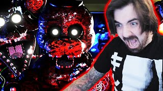 NO Me HAGAS Esto Freddy... NOCHE INFERNAL, LO PASO muy MAL  | The Joy Of Creation Story MODE Night 3