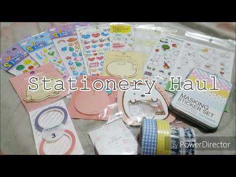 Stationery Haul #1