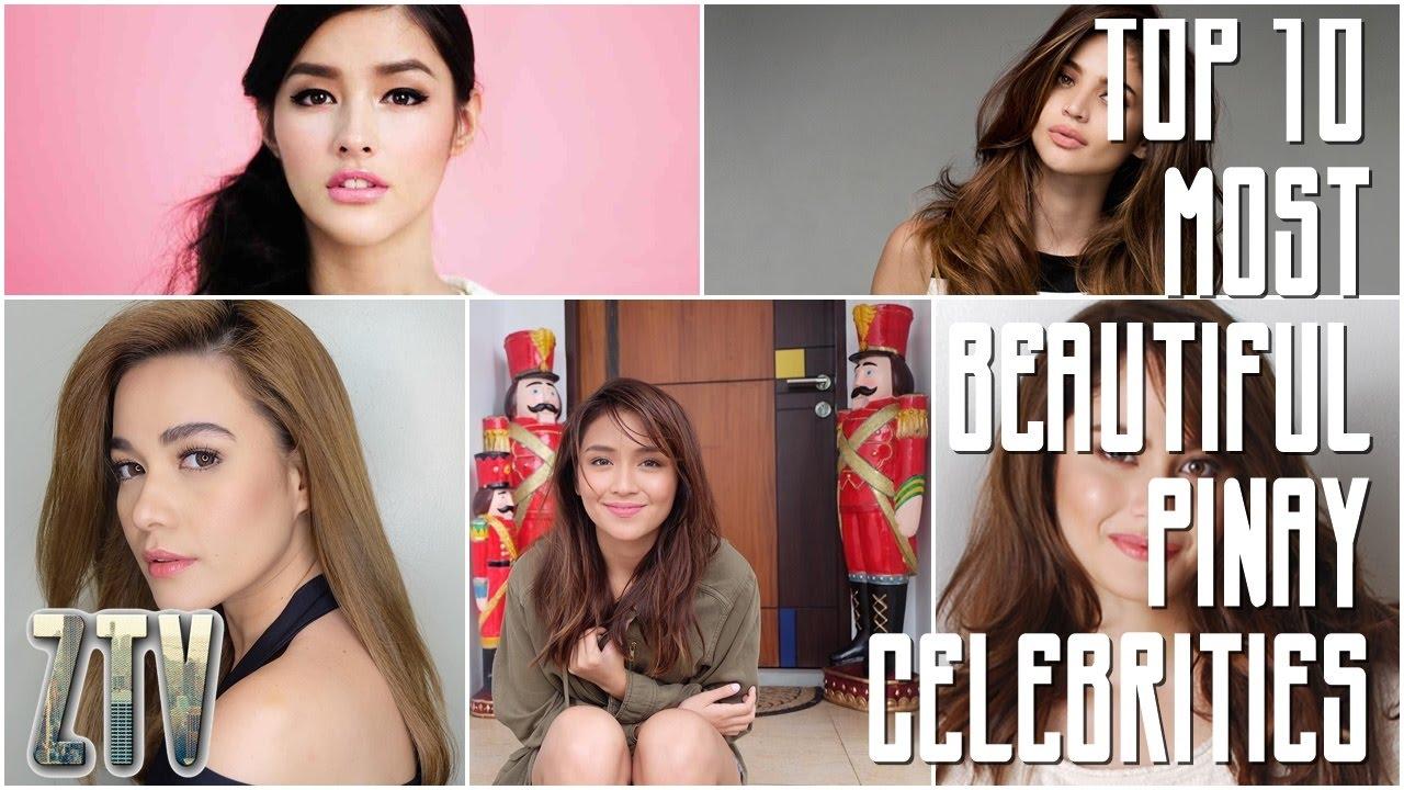 Top 10 Most Beautiful Pinay Celebrities 2017