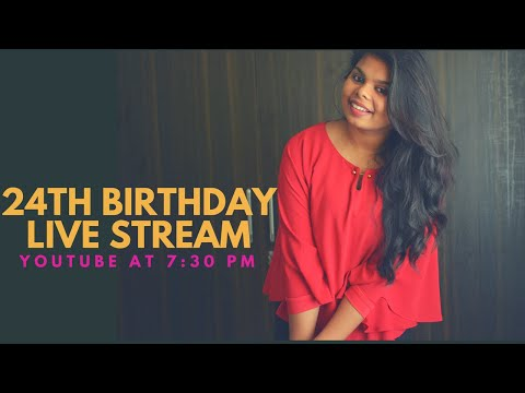 24th Birthday Live Chat