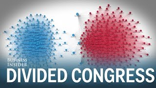 60 deuxième animation montre comment divise Congrès est devenu au cours des 60 dernières années