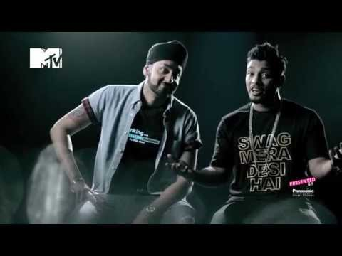 The Story behind Swag Mera Desi | Panasonic Mobile MTV Spoken Word | Raftaar | Manj Musik