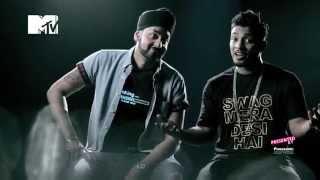 Download Hindi Video Songs - The Story behind Swag Mera Desi | Panasonic Mobile MTV Spoken Word | Raftaar | Manj Musik