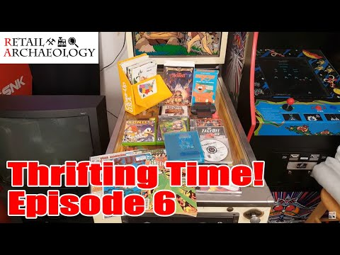 Thrifting Time! Ep. 6: Retail Relic Hunting At Goodwill | Retail Archaeology