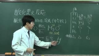 【化学基礎】酸化還元反応①(1of2)~酸化還元の定義~