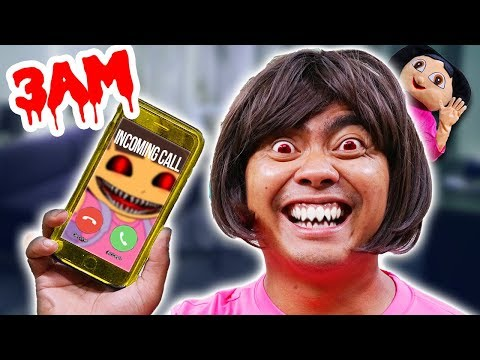 Do Not Call DORA at 3AM ~ Ghost Challenge