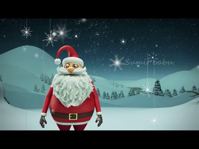 Funny Merry Christmas SANTA Whatsapp Status Video 2018