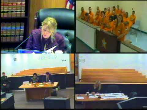 Judge Ruppe First Appearance October 25, 2017