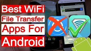 Top 5 Best WiFi File Transfer Apps For Android (2018)   Bangla   Aroundthealok