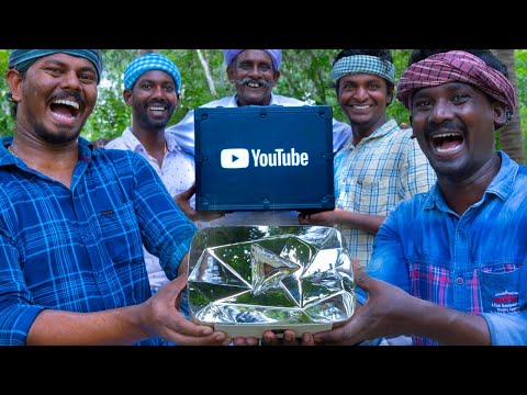 DIAMOND BUTTON UNBOXING   First Time in South India   Meeting TN Chief Minister   10M Subscribers
