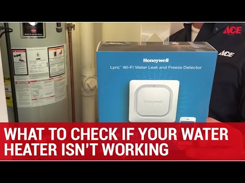 What To Check If Your Water Heater Isn T Working Ace Hardware Youtube