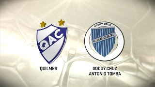 Quilmes vs Godoy Cruz Mza. full match