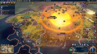 Thermonuclear Strike - Civilization VI Gameplay