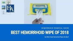 Best Hemorrhoid Wipe of 2018 Revealed | Are Witch Hazel Hemorrhoid Wipes the Best?