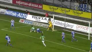 Fotboll : GAIS vs IFK Göteborg 1-0 (2011-10-17)