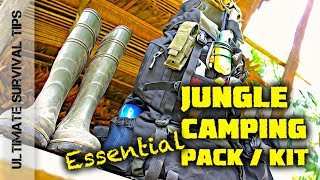7-DAY JUNGLE Camping  KIT - GEAR TEST - Amazon Rainforest COLOMBIA