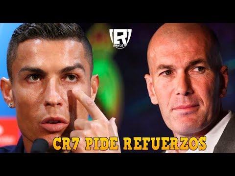 ÚLTIMA HORA: CR7 PIDE a la JUVENTUS que COMPRE 2 ESTRELLAS del REAL MADRID | DECISIÓN de ZIDANE