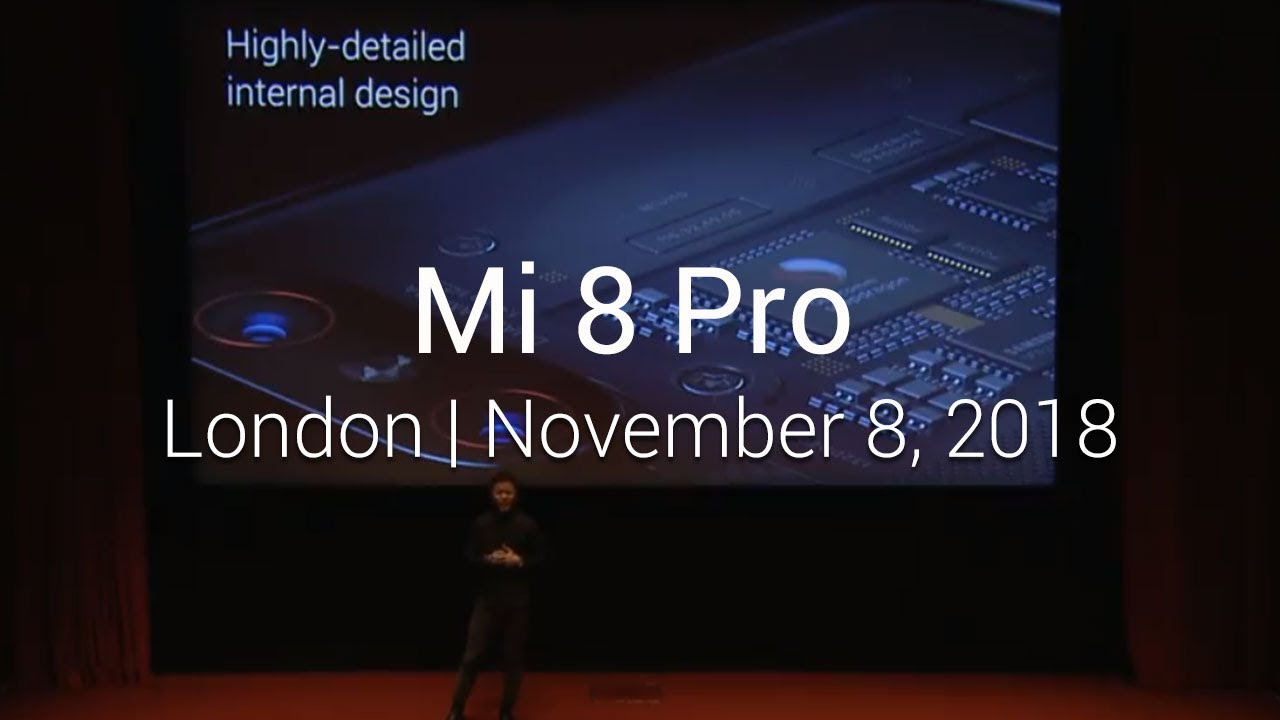 Xiaomi makes debut in Blighty with the Mi 8 Pro, Redmi 6A and, er, a