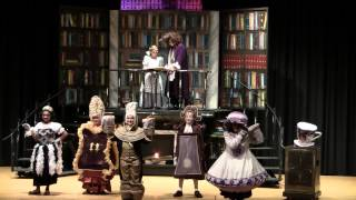 2012 Beauty and the Beast - Center Stage Perspective - Spotswood Appleby School