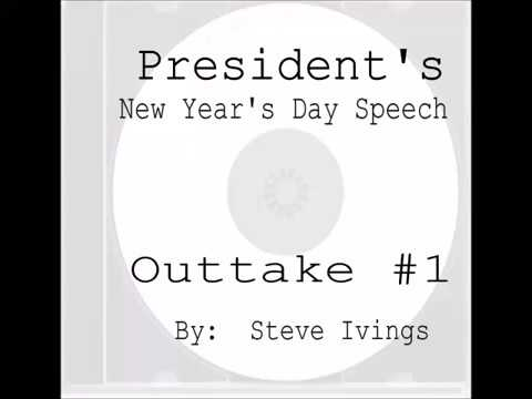 Trump\'s New Year\'s Day Speech Outtakes #1 - YouTube