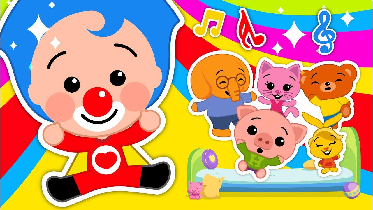 """""""Smile"""" + More Plim Plim Positive Songs - Kids Songs & Nursery Rhymes"""