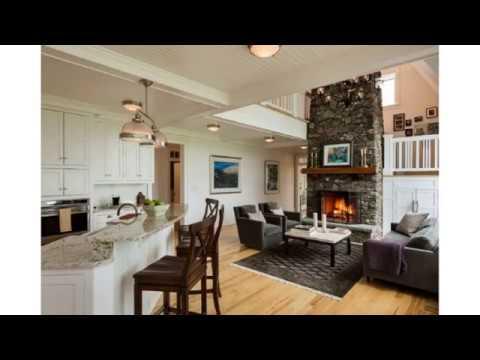 How To Decorate A Long Living Room With Fireplace In The Middle Leather Sectional Furniture Designs Youtube Top Decor